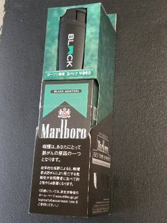 Marlboro GET THE SPIRIT ローソン限定第1弾 BLACK MENTHOL